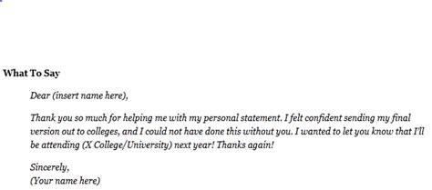 College Waitlist Letter 6 Thank You Notes You Should Write After Your Addmission