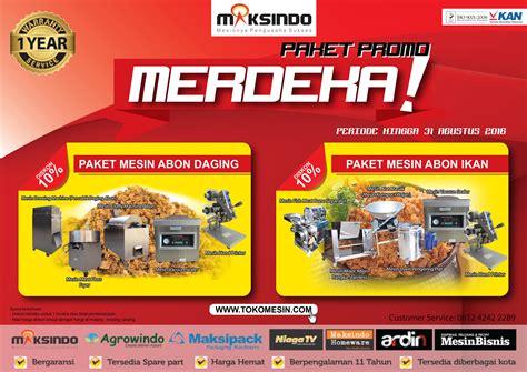 Sale Promo Beli 5pcs Bisa Cur paket promo merdeka up to 10 toko mesin maksindo toko mesin maksindo