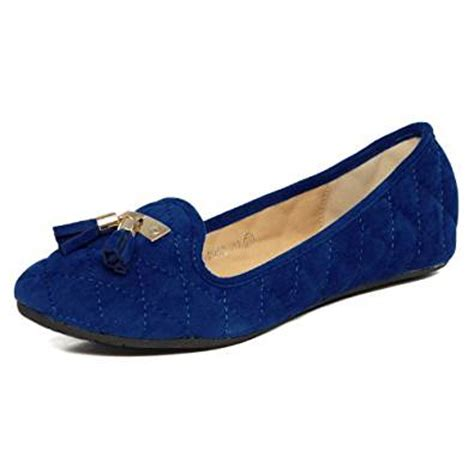 royal blue flats womens shoes yesstyle s quilted flats royal blue 6 5