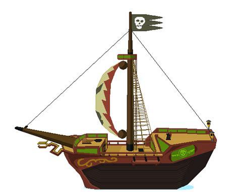 boat maker cartoon tetra s pirate ship by shadowthehedgehog9 on deviantart