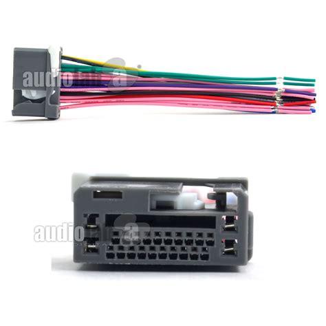 honda stereo wiring harness adapter 35 wiring diagram