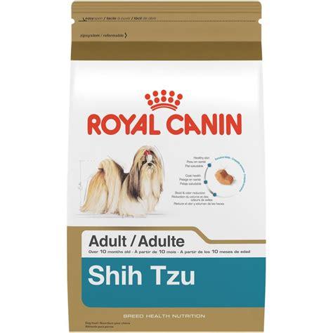 royal canin shih tzu food royal canin shih tzu food 2 5 pound bag