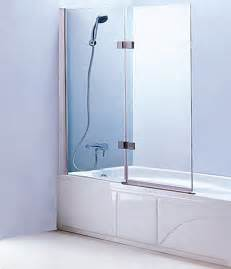 Tub enclosure bath tub glass screen with 2 panel folding swing door