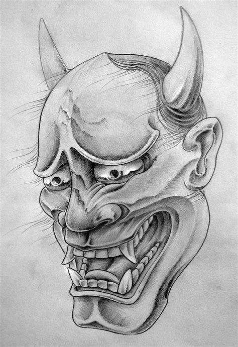 hannya mask tattoo designs 143 best hannya mask design images on