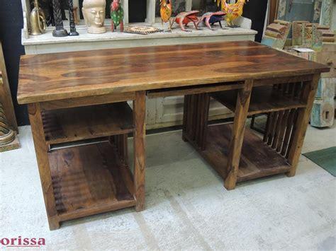 scrivanie in legno massello scrivania legno massello cx048 orissa