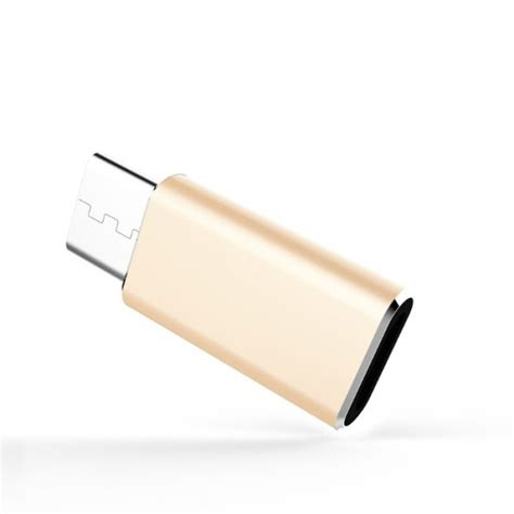 Jual Lan To Usb Type C by Jual Nillkin Micro Usb To Usb Type C Adapter Gold