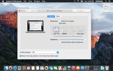 Mac Os X how to increase all system font size in mac os x