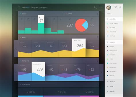 design inspiration ui ui design analytics