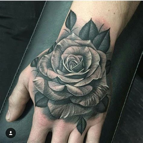 rose tattoos for men black and white pinteres