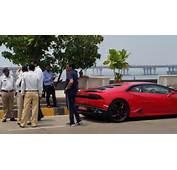 Arnab Goswami Puts Brakes On Speeding Lamborghini  The Indian Express