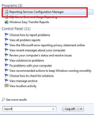 email rscm ssrs sql server reporting services subscriptions reports