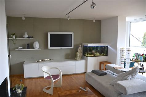 aquarium im wohnzimmer wohnwand mit aquarium modern wohnzimmer other metro