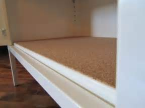 Liner For Kitchen Cabinets Cork Shelf Liner Ikea Ps Cabinet Diy And Crafts Pinterest