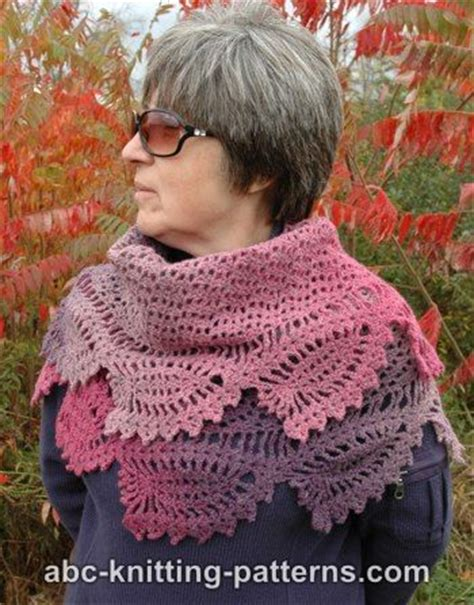 printable free knitting patterns abc knitting patterns tulip reverie shawl