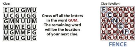 round hide boat crossword clue treasure hunt