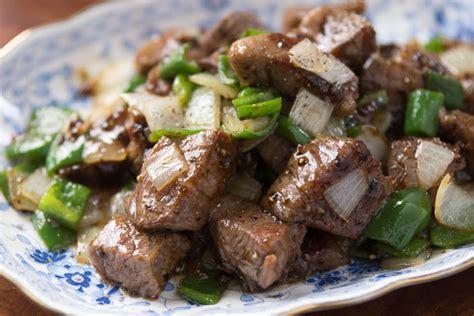 black pepper beef black pepper beef recipe fresh tastes blog pbs food