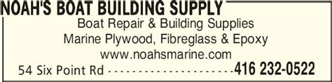 noah s boat building supply opening hours 54 six point - Boat Supplies Etobicoke