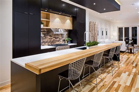 contemporary kitchen islands with seating stylish seating options for modern kitchen islands