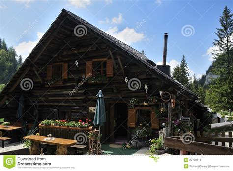 Alpine Cottages by Alpine Cottage Royalty Free Stock Photos Image 20709718