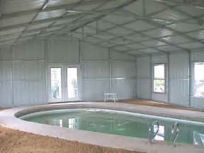 building a pool house steel building swimming pool enclosure