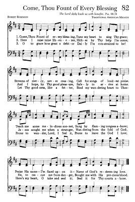 Wedding Blessing Hymns by Best 25 Come Thou Fount Ideas On