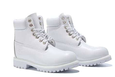 all white boots for timberland mens authentic 6 inch bright leather boot all white