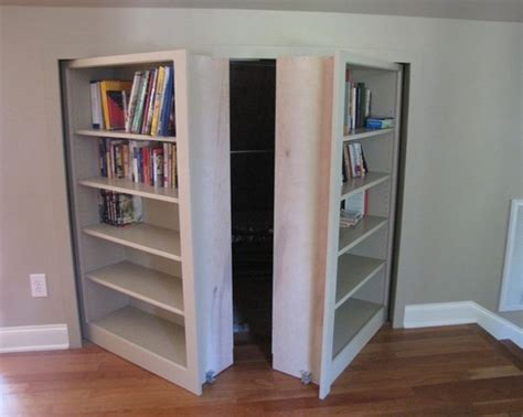 secret bookshelf doors stashvault