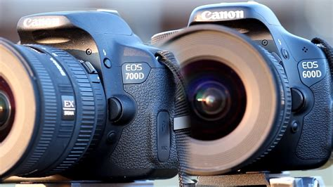 Canon Eos 700d Vs 600d canon 600d t3i vs 700d t5i comparison review