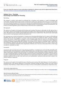 Nursing Essay by Nursing Essays Knowledge And Skills For Nursing