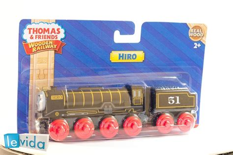 hiro and friends wooden railway fisher price