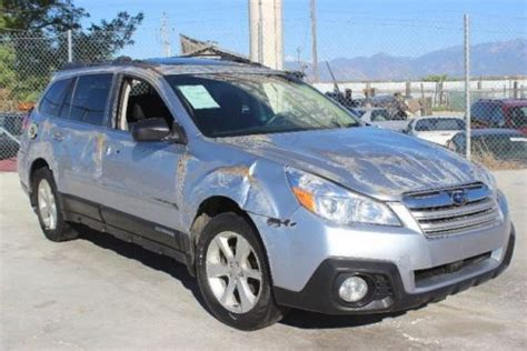 wrecked subaru outback find used 2013 subaru outback 2 5i premium damaged
