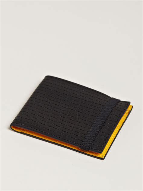 stitch pattern mens black leather wallet damir doma mens small bico top stitch leather wallet in