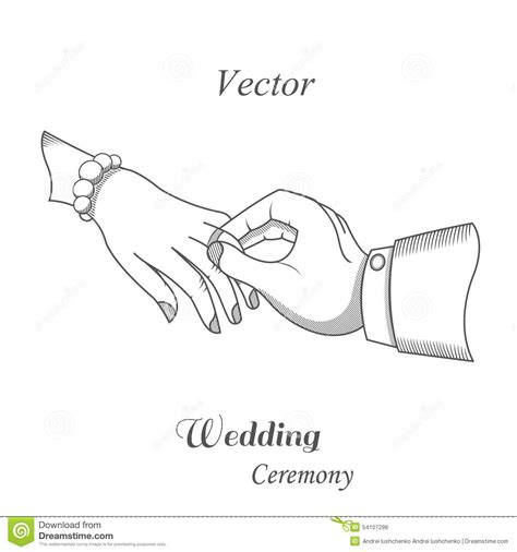 Wedding Ceremony Clipart by Illustration Of Wedding Ceremony Stock Illustration