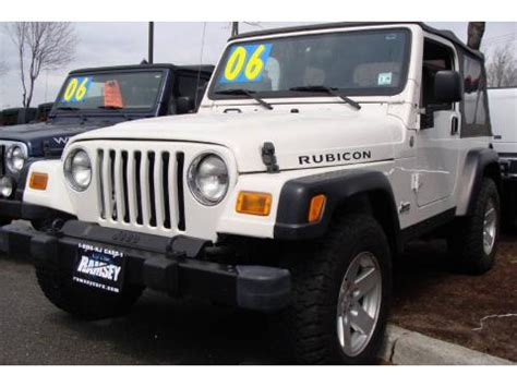 2006 Jeep Wrangler Rubicon For Sale Used 2006 Jeep Wrangler Rubicon 4x4 For Sale Stock
