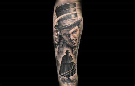 sherlock holmes tattoo 15 amazing top hat tattoos