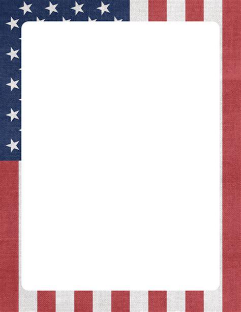 printable military stationary printable american flag border free gif jpg pdf and