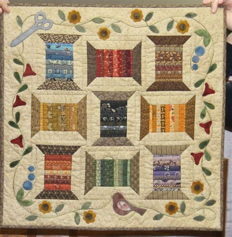 Thread Quilts by This Quilt With Thread Spools