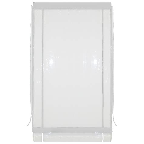 smart home products 120 x 240cm white outdoor bistro blind
