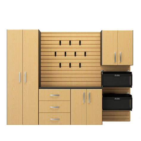 Starter Kitchen Cabinets Deluxe Cabinet Starter Set In Maple 5 Light Mapleflow Wall 203376591
