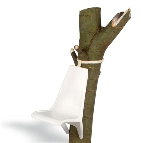 tree trunk chair somnio suspended tree trunk chairs by frederic julian r 228 tsch