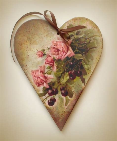 Decoupage Hearts - 17 best images about cutouts on vintage