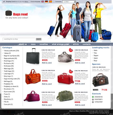 E Commerce Templates by Modern Website Templates For Ecommerce Embellishment