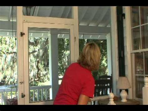 How To Hang A Screen Door by How To Install A Solid Vinyl Screen Door From Screen Tight