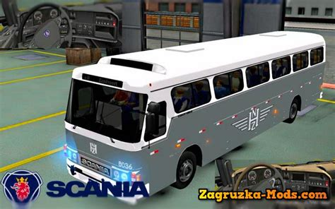 download game euro truck simulator 2 bus mod scania bus nzh 1965 for ets 2 187 download game mods ets 2