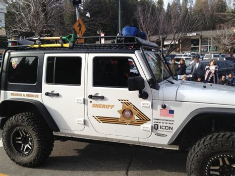 San Bernardino Jeep Icon Outfitted San Bernardino County Search And Rescue