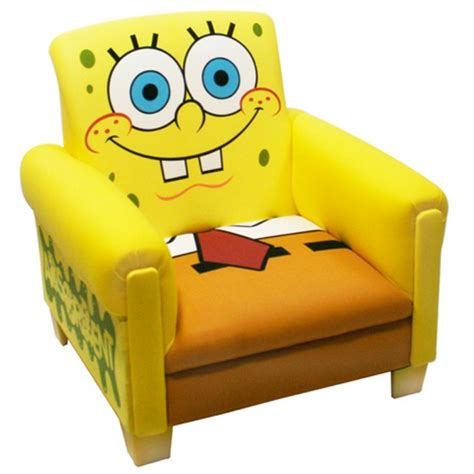 spongebob couch cool funny chairs design for kids nickelodeon and warner