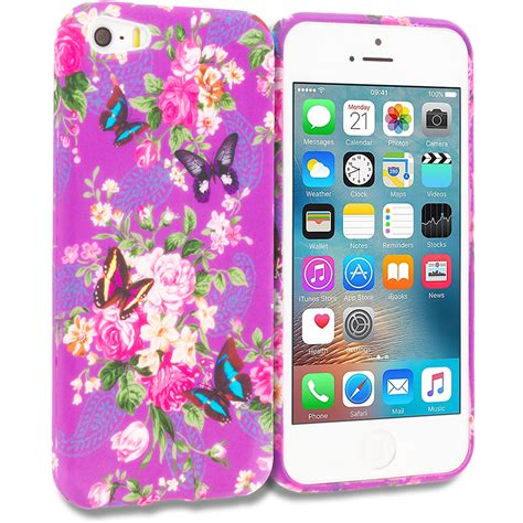 Iphone 5 5s Se Ory Soft Casing Cover Leather for apple iphone 5 5s se design tpu soft rubber skin cover accessories ebay