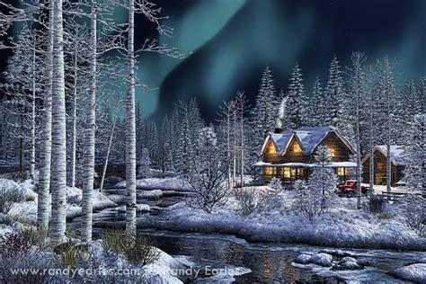 r250 multi vapor light bulb northern lights quot beautiful painting winter