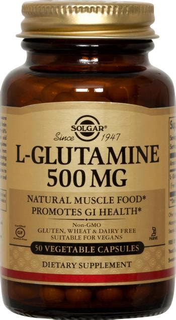 l glutamine vegetables l glutamine 500 mg vegetable capsules solgar vitamins
