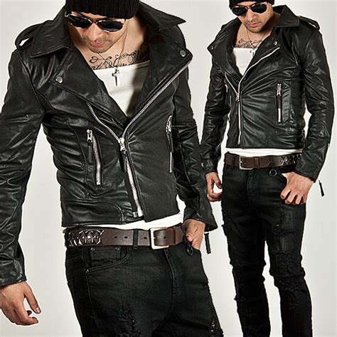 Jaket Zipper Grabbike Uber outerwear uber cool multi zipper accent slim leather rider jacket 33 for only 110 00